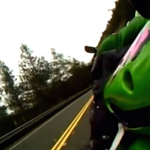 ZX-9r - Knee Down